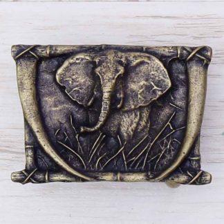 BUCKLE WILD AFRICA NO.86 ELEPHANT