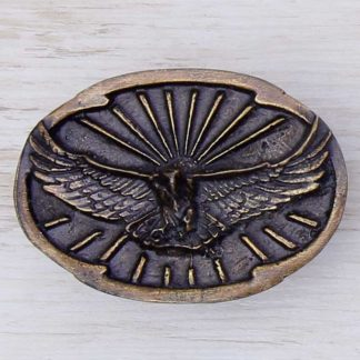 BUCKLE WILD AFRICA No.155 EAGLE & SUN RAY