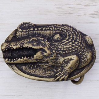 BUCKLE WILD AFRICA No.40 CROCODILE