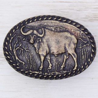 BUCKLE WILD AFRICA No.94 BUFFALO
