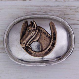 BUCKLE HORSE LB1008 GOOD LUCK