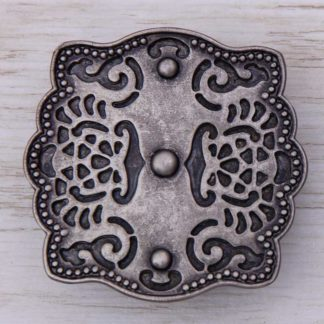 Buckles Retro LB948 3-DOT ETCHED SCALLOP