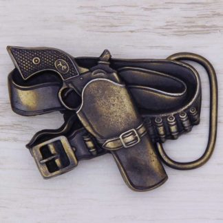 BUCKLE WESTERN No.123 GUN BELT