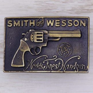 BUCKLE WESTERN No.125 SMITH & WESSON