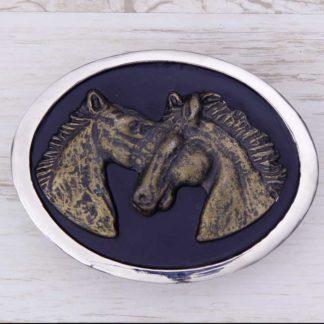 BUCKLE HORSE No.133PR WILD HORSES