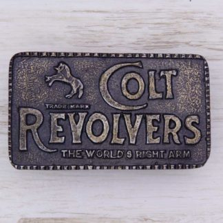 BUCKLE WESTERN No.138 COLT REVOLVER