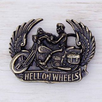 BUCKLE WHEELS No.23 HELL ON WHEELS