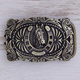 BUCKLE HORSE No.38 GOOD LUCK HORSE