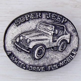 BUCKLE WHEELS No.42 JEEP