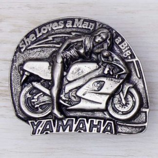 BUCKLE WHEELS No.45 SHE LOVES A MAN WITH A BIG YAMAHA