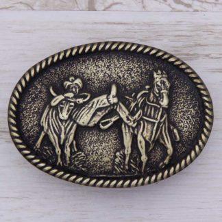 BUCKLE HORSE No.80 COWBOY DROVER