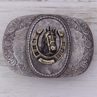 BUCKLE HORSE No.88 CAMEO GOOD LUCK