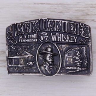 BUCKLE WESTERN No.90 JACK DANIEL'S WHISKEY