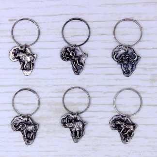 Wine Glass Charms BIG 5 AFRICA